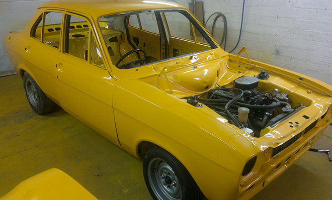 Classic Car Restoration Ford Escort