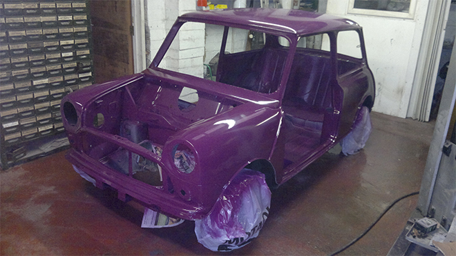 Classic Car Restoration Mini