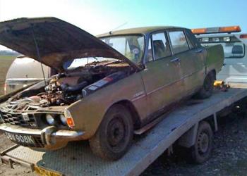 Rover P6 Restoration
