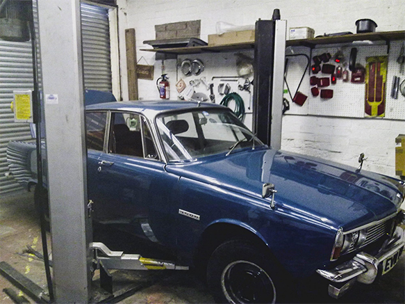 Rover P6 Specialist Workshop